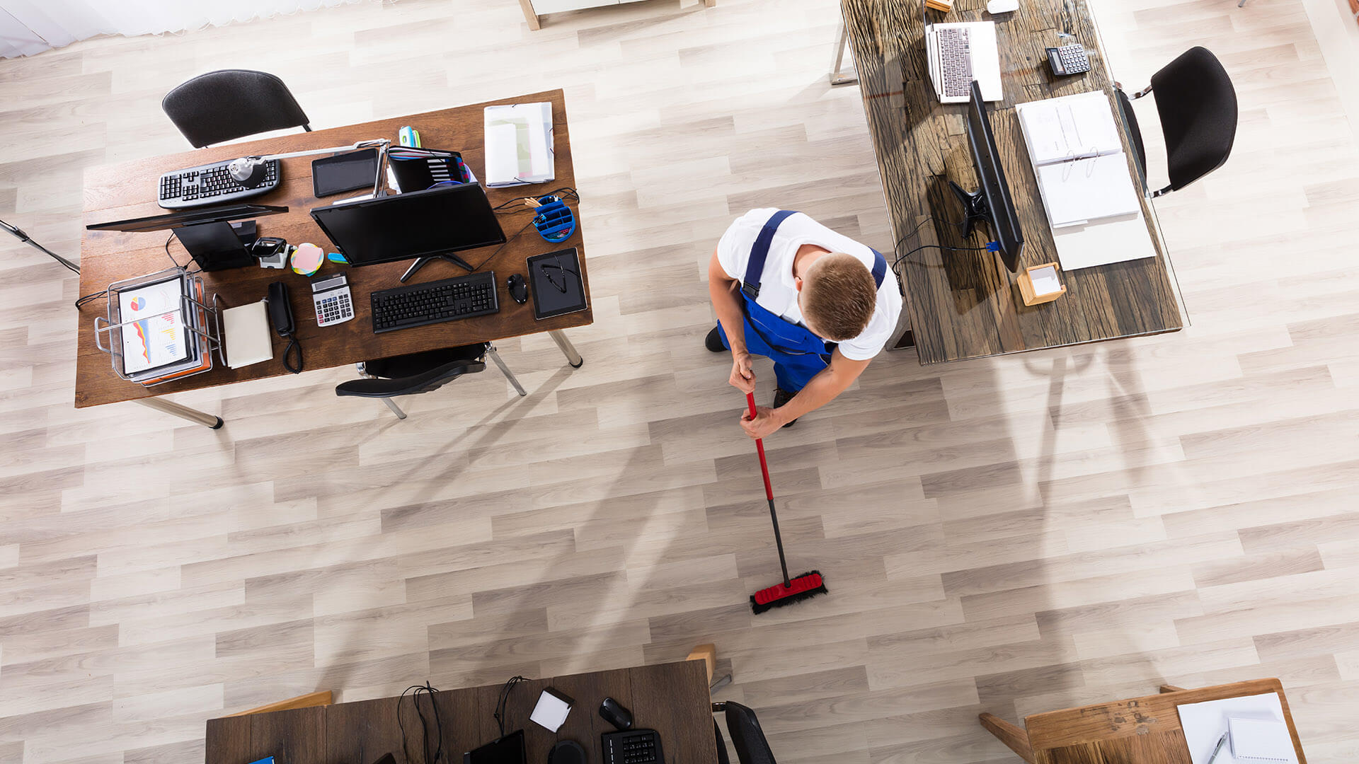 About Windsor Commercial Cleaning Office Building